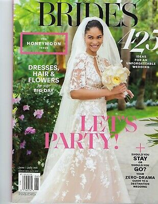 "2 New Issues Of""Bridal Guide & Brides"" Magazine~Plan A Wedding!"