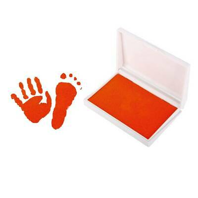 For Baby Inkless Touch Footprint Handprint Ink Pad Mess Free Record Commemorate