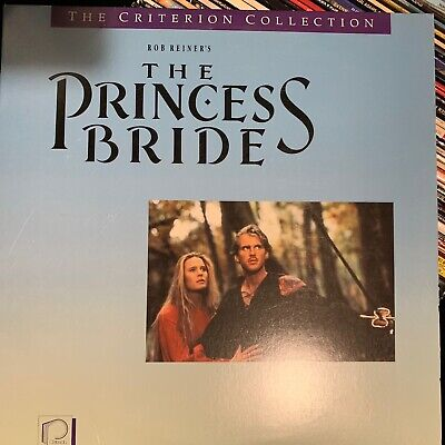 The Princess Bride - Criterion Collection Laserdisc - Buy 6 for free shipping