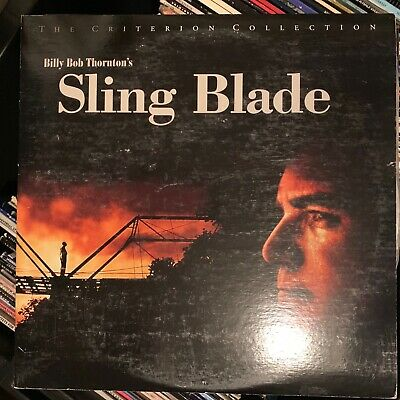 Sling Blade - Criterion Collection Laserdisc - Buy 6 for free shipping