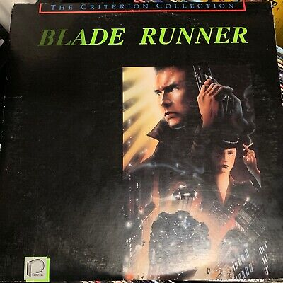 Blade Runner - Criterion Collection Laserdisc / some cover wear
