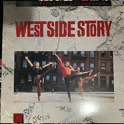 West Side Story - Criterion Collection Laserdisc - Buy 6 for free shipping