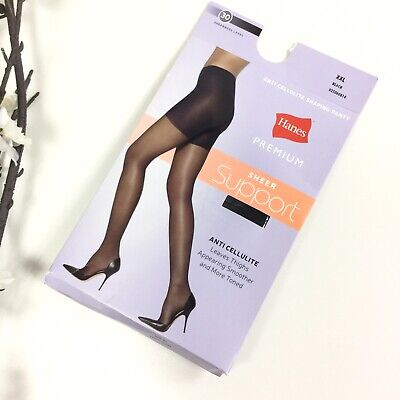 **NEW** Anti-Cellulite Compression Technology 40 denier Sheer-to-Waist Pantyhose