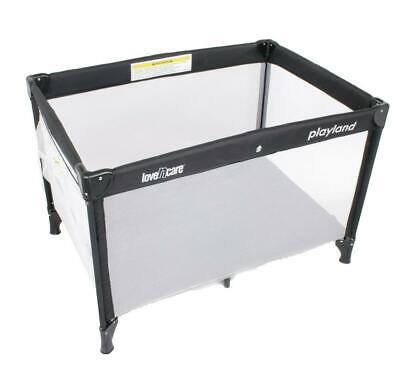 Love N Care Playland Travel Cot (Nero) Love Care Free Shipping!