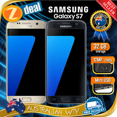 Samsung Galaxy S7 Sm-G930F Unlocked Phone (Au Stock, Au Model, Ex-Lease)