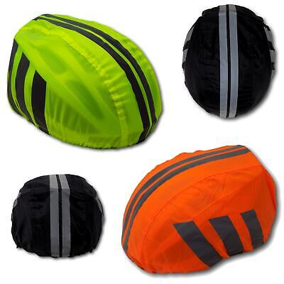 Case4Life Orange Waterproof Cycling Helmet Cover Safety Cycle High Visibility