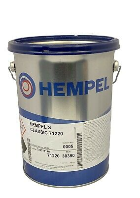 Hempel NEW Classic Antifouling 5 Ltr Boat Paint Yacht RED