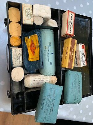 St Johns Vintage First Aid Box