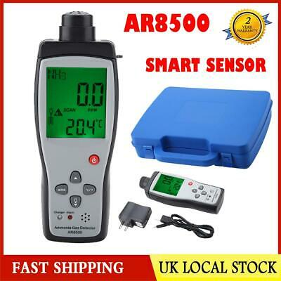 AR8500 Ammonia Gas Detector Meter Digital LCD Display NH3 Gas Monitor UK 220V