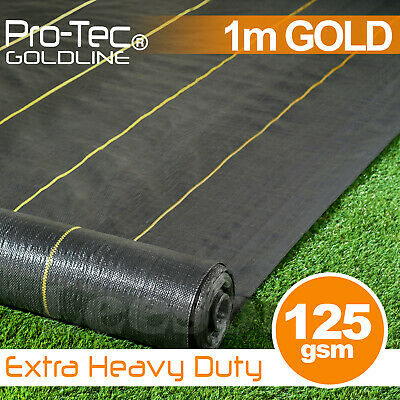 1m Extra Heavy Duty garden weed control fabric ground cover membrane landscape