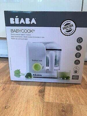 New Beaba Babycook 4 In 1 Baby Food Processor. Steams Blends Reheats Defrosts