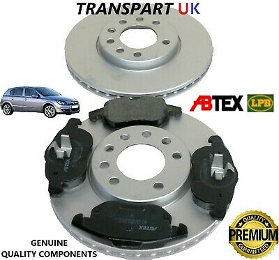 Vauxhall Astra H 1.9 CDTi 148 Rear Brake Pads Discs 264mm Solid