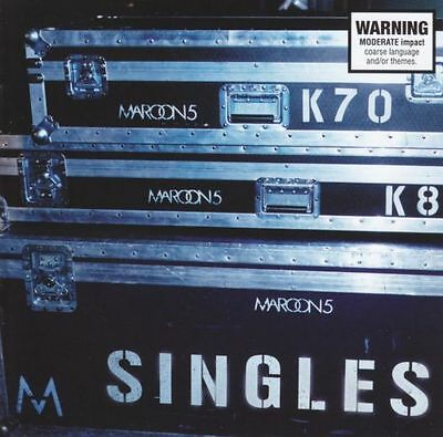 MAROON 5 Singles CD BRAND NEW Best Of Greatest Hits