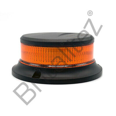 Low Profile Beacon (ECE R65,R10), 3 Bolt Mount, 12V/24V, Strobe, Warning Light