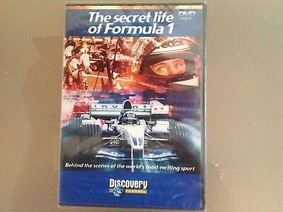 The Secret Life Of Formula 1 Dvd - Brand New And Sealed