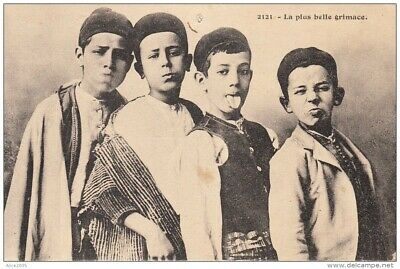 La plus belle Grimace  / Young children from Algiers