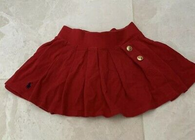 Girls Red Ralph Lauren Girls Skirt With Shorts
