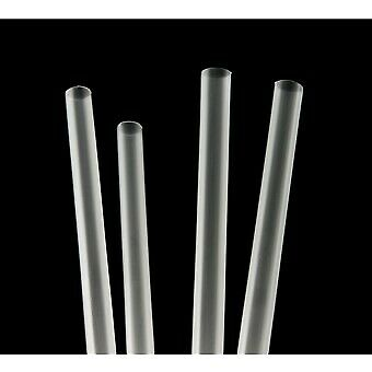 250 x All Black Paper Straws | Catering Supplies