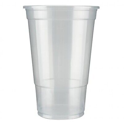 1000 x Recyclable Flexy Glass Half-Pint To Brim Recyclable | Catering Supplies
