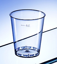 1000 x 5cl Facet Tumbler Shot Glass Recyclable   Catering Supplies