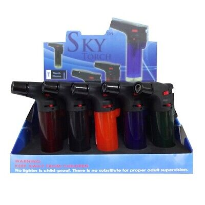 New 821913  Sky Torch Flame Lighter Asst Clrs (15-Pack) Bbq And Grill Cheap