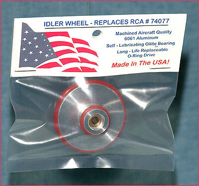Idler Wheel Replaces RCA 74077 For RCA 45 RPM Changer + BONUS RCA Victor Data CD