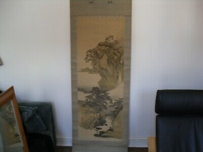 antique Japanese painted scroll, No 5