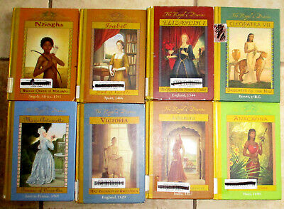 Lot 8 ROYAL DIARIES Childrens Young Adult Historical Fiction Books