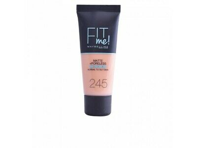FIT ME MATTEPORELESS foundation 245-classic beige