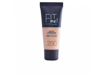 FIT ME MATTEPORELESS foundation 250-sun beige
