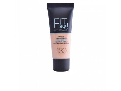 FIT ME MATTEPORELESS foundation 130-buff beige