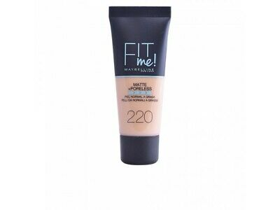 FIT ME MATTEPORELESS foundation 220-naturel