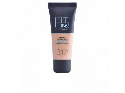 FIT ME MATTEPORELESS foundation 312-golden