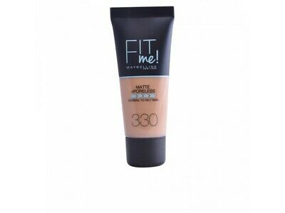 FIT ME MATTEPORELESS foundation 330-toffee