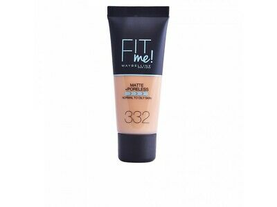 FIT ME MATTEPORELESS foundation 332-golden
