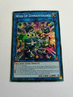 Wind-Up Zenmaintenance FLOD-EN049 1st Edition Super Rare NM BONUS