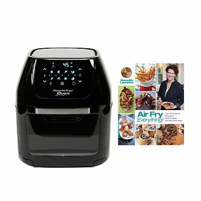 Tristar Power Air Fryer Oven (6 Qt.) with Air Fry Everything Foolproof Recipes