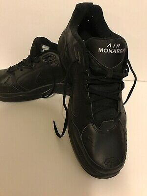 finest selection 6ea6a ef8f0 Nike Air Monarch IV Men s Athletic Shoes - Black, Size 14 8 11