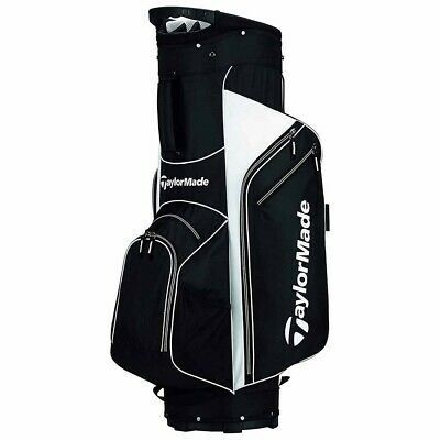 New TaylorMade Golf 5.0 Cart Bag - Black/White
