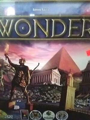 7 Wonders - Repos Production Games Board Game New! Seven Wonders
