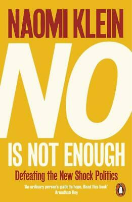 No Is Not Enough - Naomi Klein - 9780141986791 PORTOFREI