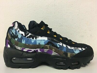 the best attitude 652a9 7d7af NIKE AIR MAX 95 ERDL Party Black Multi-Color AR4473-001 Size 8