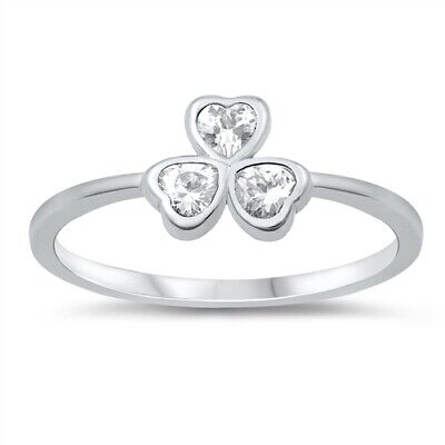 Horseshoe Good Luck Dainty Simple Fun Ring .925 Sterling Silver Band Sizes 2-10
