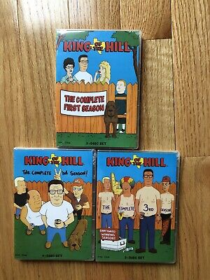 King Of The Hill Seasons 1-3