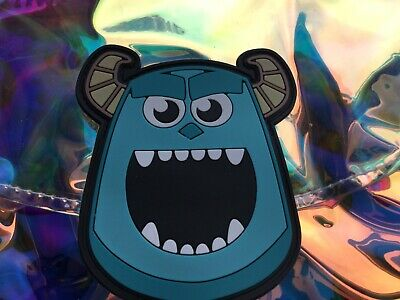 Disney Store Monsters, Inc. Sully Emoji Characters Iridescent Backpack - NWT