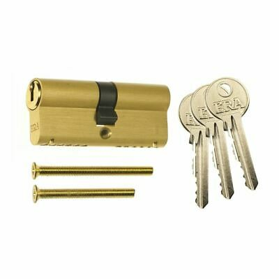 Era BS 1 Star Double Cylinder 6 Pin 40/40 Brass Clam  Cylinder Locks BS-L-4040