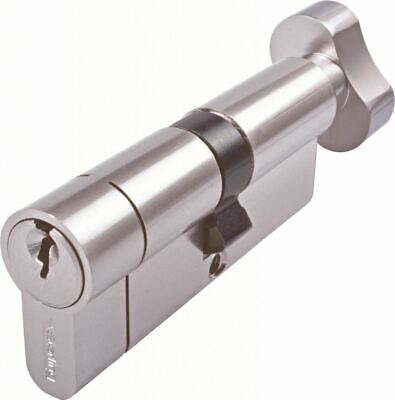 Sterling H series Euro Profile Cylinder - Nickel 70mm (35x35mm)  Cylinder Locks
