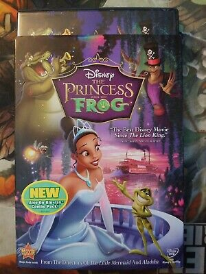 The Princess and the Frog (DVD, 2010) w/ Slipcover