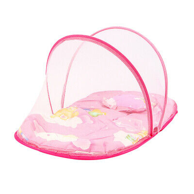 1PC Foldable Breathable Lightweight Baby Mosquito Net Bed Play Tent Cradle Bed
