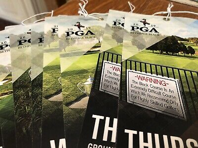 2019 PGA Golf Championship Bethpage - 2 Grounds tickets for Mon. Tue. Wed. Thurs